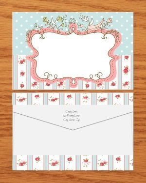 pretty envelope template