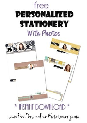 custom stationery with photos