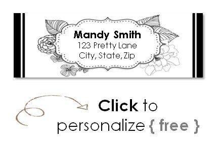 free return address labels