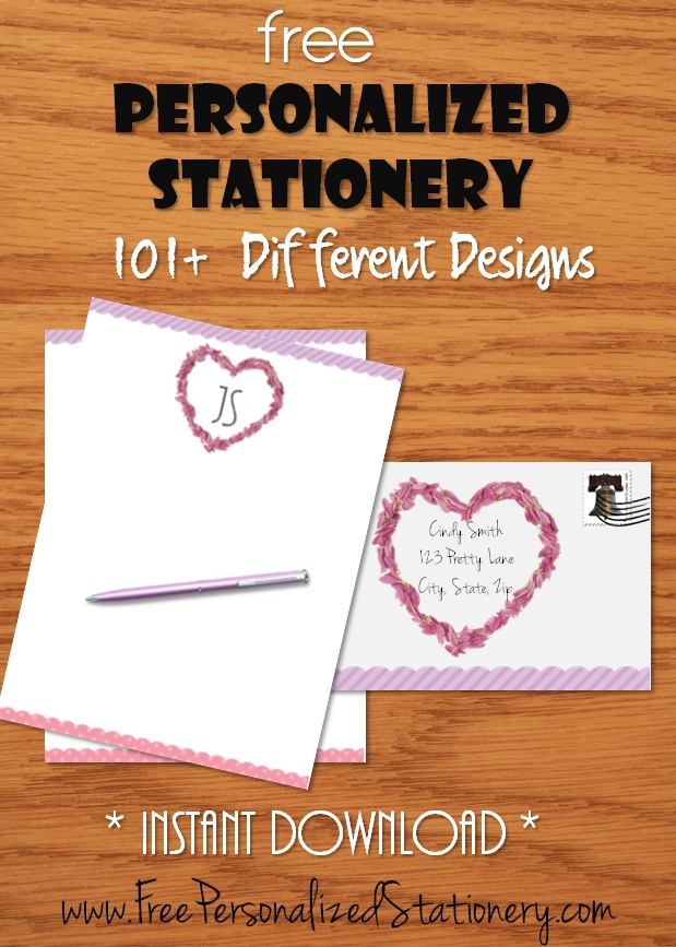 personalized stationery for women