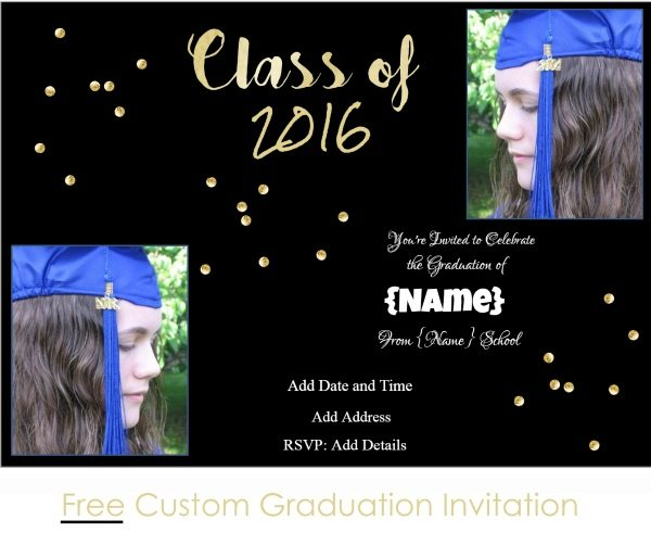 Graduation invitations free graduation invitation template filmwisefo