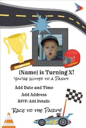 car invitation