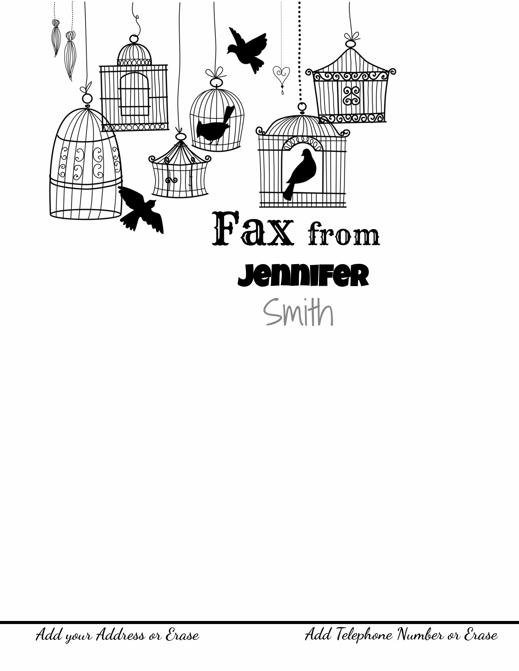 This Is Just A Fax Cover Letter Sample And You Can Make Any Changes That  You Want To It. You Can Move The Text Around, Make It Bigger Or Smaller, ...