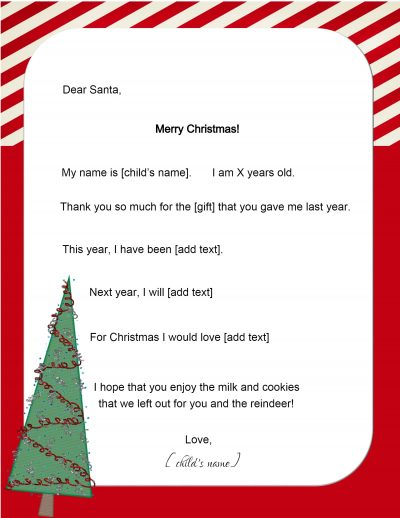 Send a letter to Santa