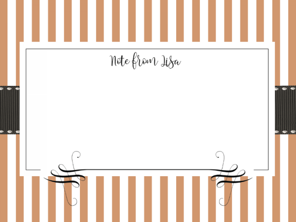 Free Note Card Maker - Note card template