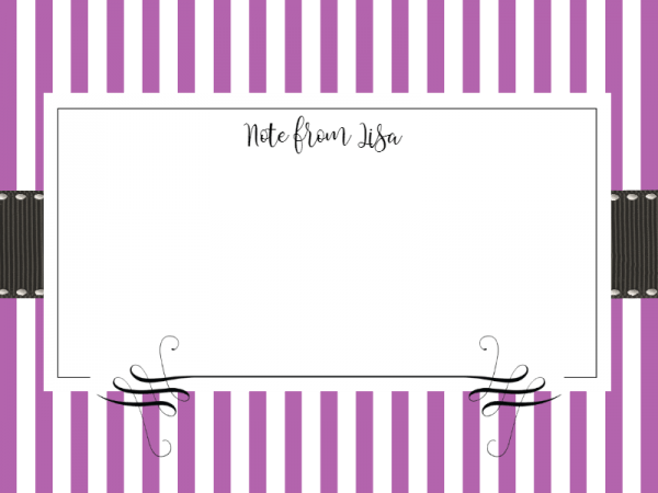 free note card templates
